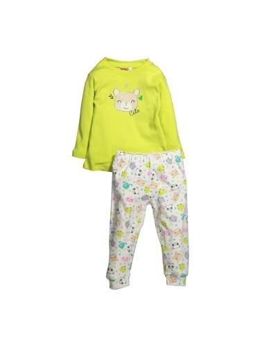 Zeyland Teddy Baskılı Pijama Takımı (1-4yaş) Teddy Baskılı Pijama Takımı (1-4yaş) Yeşil